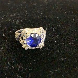 Jewelry - Platinum, Sapphire,Diamond Ring
